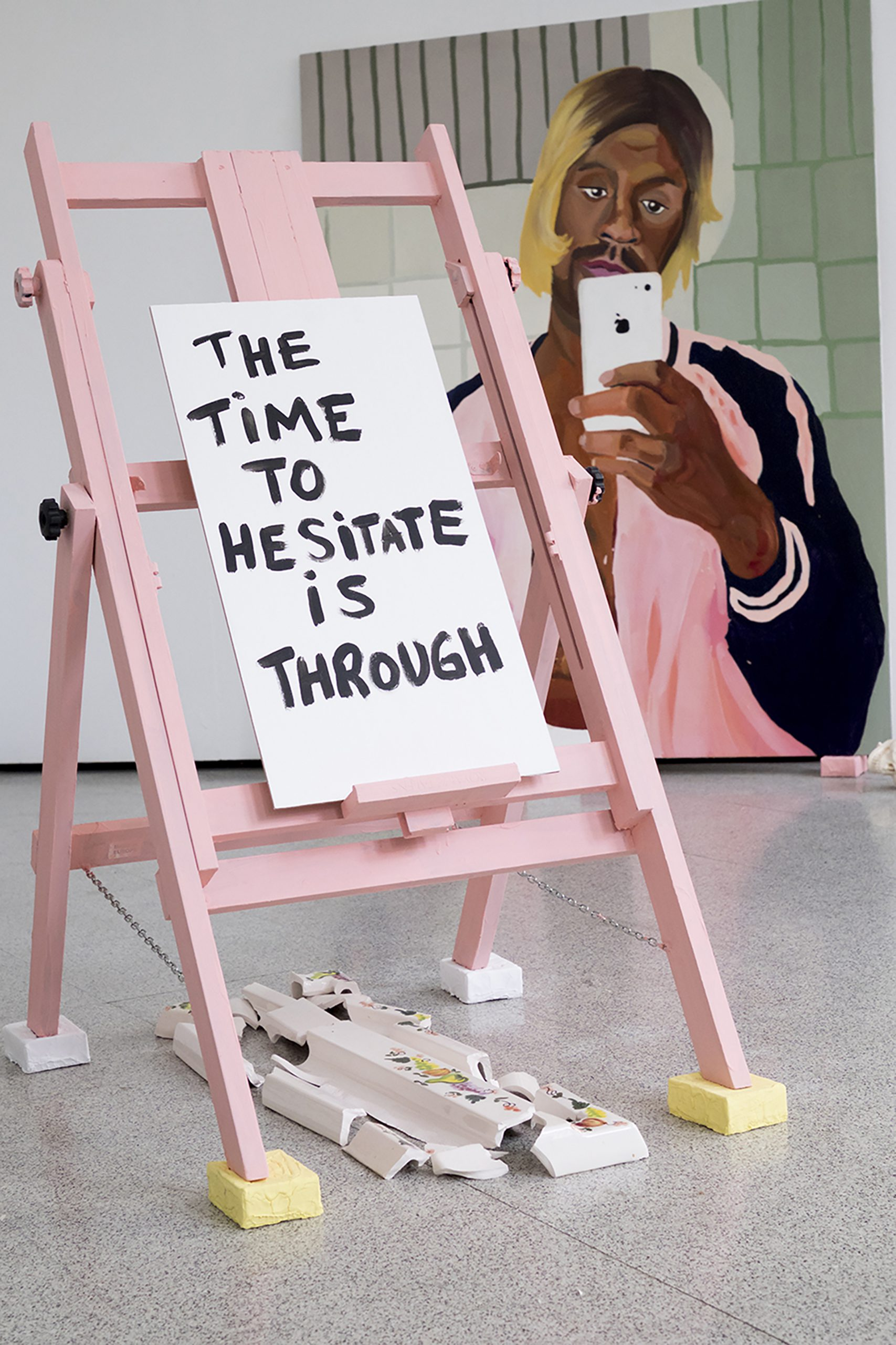 The Time to Hesitate is Through (2016)